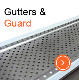 gutter and guard installation