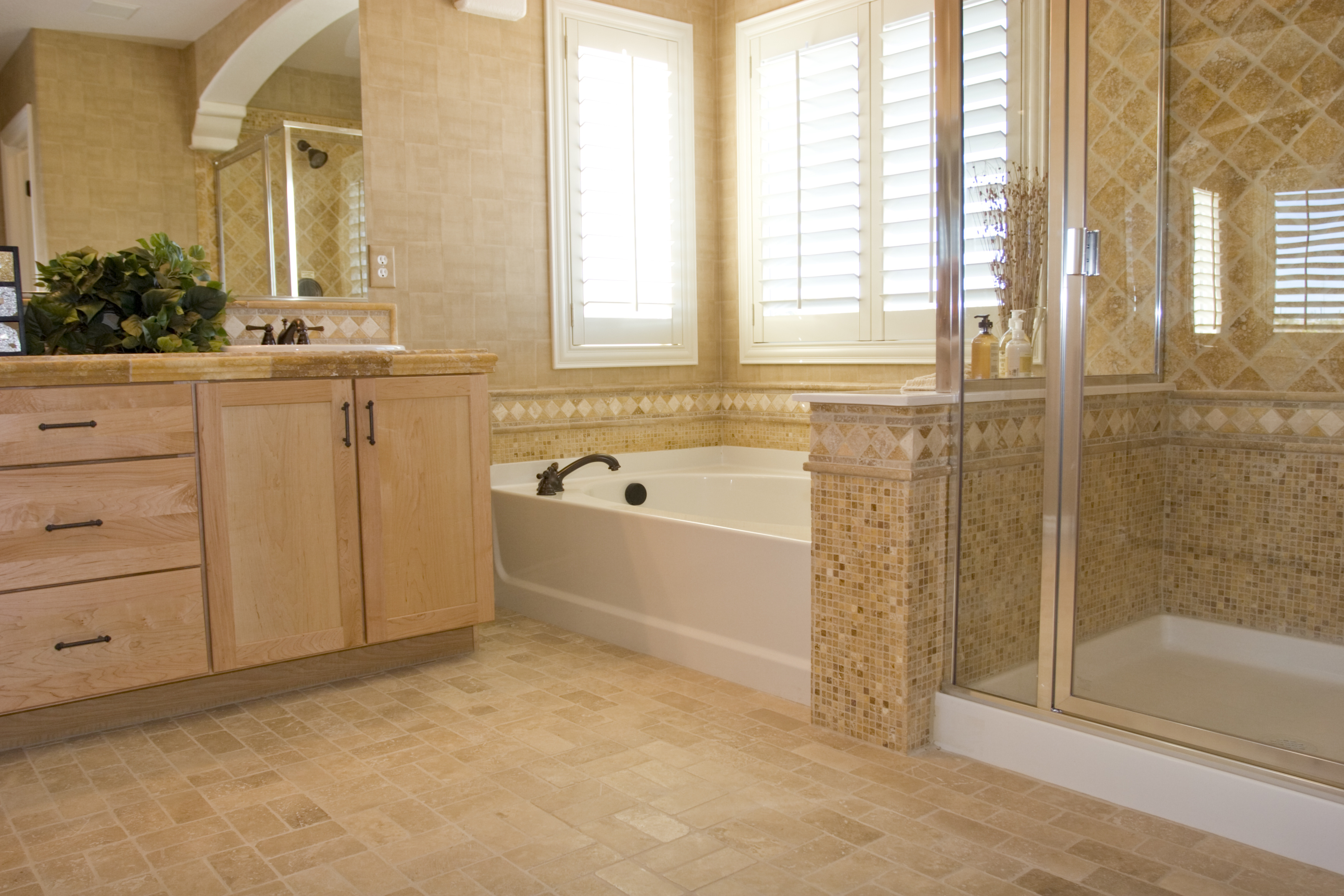 Remodel Bathroom Floor Upscale Bathroom Remodel  St Louis Bathroom Remodeling Experts